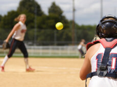 Online softball training program. Workouts and nutrition plans designed for softball players.