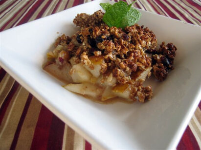 ... apple pear ginger crisp recipe happyandsimple pear ginger crisp with