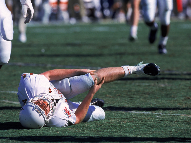 Knee Knowledge: Non-Surgical Knee Treatment, football