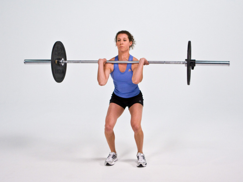 Front Squat - Barbell | Movements | EXOS Knowledge | EXOS ...