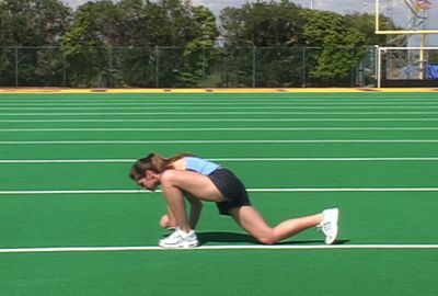 Forward Lunge Half Kneeling Elbow to Instep | Movements | Core