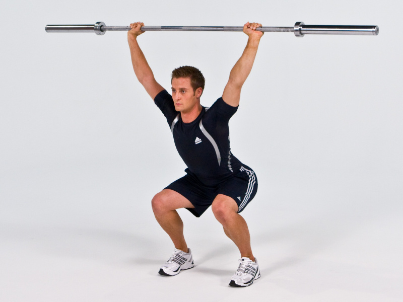 Overhead Squat Drawing To do lifts other than squats