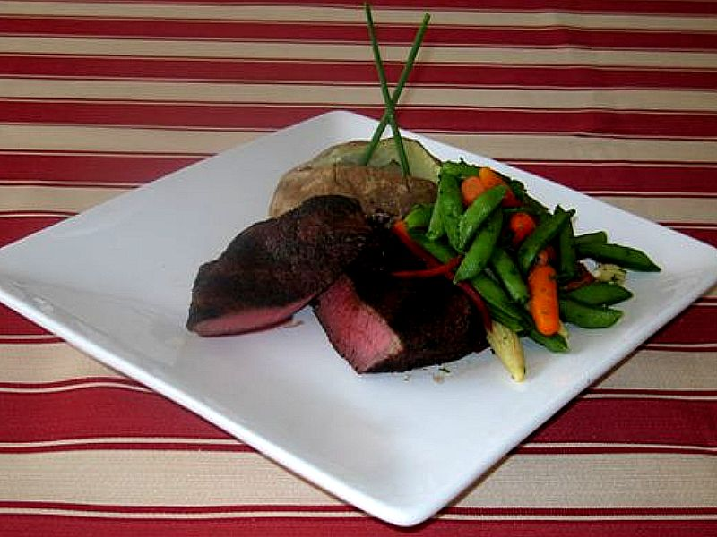 how to cook a frozen petite sirloin steak