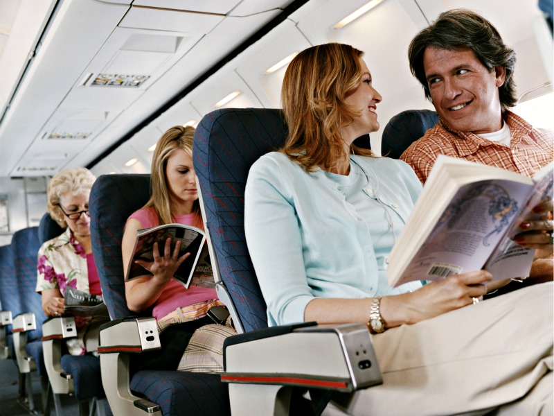 The Healthiest Seats on the Plane   Live Better   EXOS